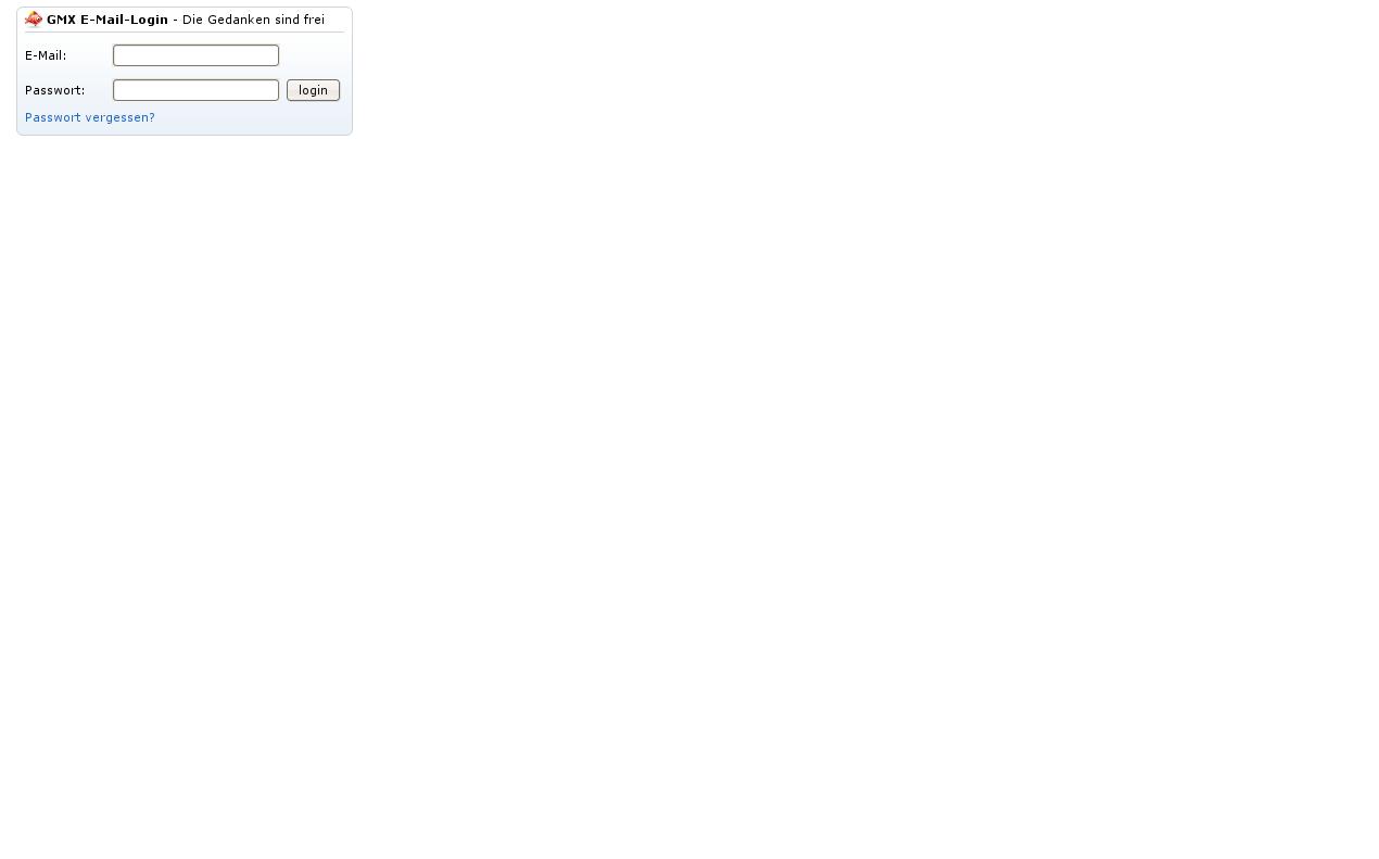 gmx einloggen passwort