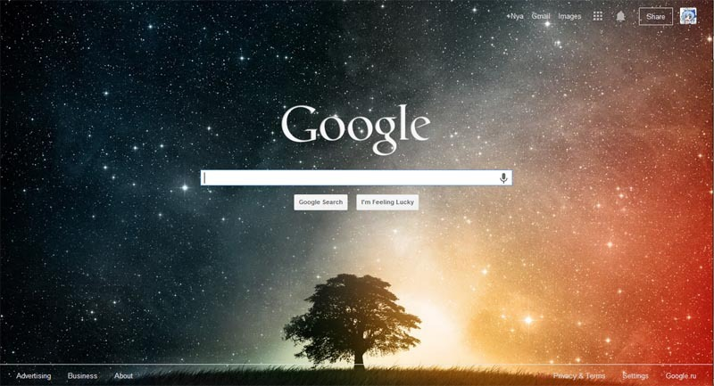 google custom background 16 images or your own freestyler ws
