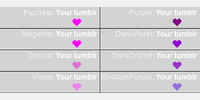 Sample Purple - color names