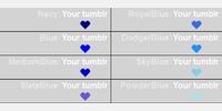 Sample Blue - color names