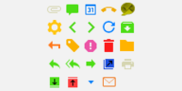 Dark theme (more saturated) icons