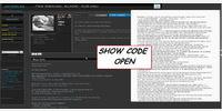 Show Code (top Button) - OPEN