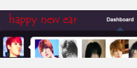 happy new ear logo