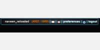 User Info Bar