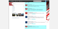 Example: @BBCNews Tweets & links highlighted