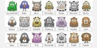 Complete Animal Icon List