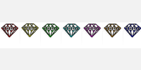 39262 diamond icons
