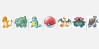 41994 pokemon G1 starters to evolutions