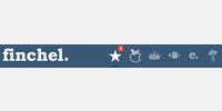 Finchel icon set with finchel. logo