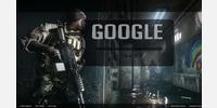 Google Menu hidden