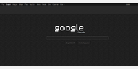 the google homepage
