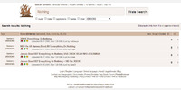 Search torrent page
