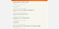 Hacker News main page