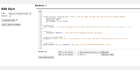 screen shot of the code that includes comments