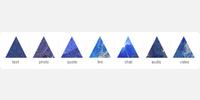 Lapiz Lazuli Post Icons