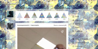 Realistic Lighted Yellow and Blue Gems