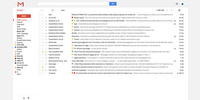 Gmail after: clean and happy