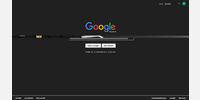 Example of Google page