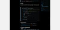 developers documentation 2