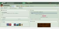 User profile - Desktop
