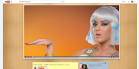 YouTube video player with YouTube Center