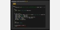 Spoiler, open spoiler and code (highlighted)