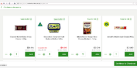 woolworths price display with syle