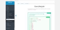 Grav CMS Documentation page