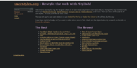 userstyle homepage