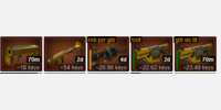 Untradeable items