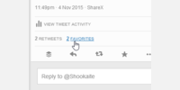 Fav text is back in tweet stats too.