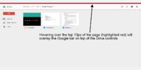 Expanding the Google Bar