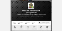 TweetDeck user profile
