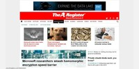 Headline page before