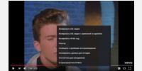 Original context menu