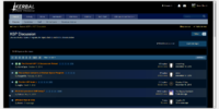 Forum thread list