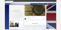 Facebook - widok własnego profilu