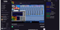Twitch VIdeo Plack Back Dark Mode