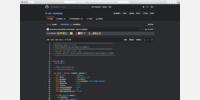 Code blob view (Javascript)