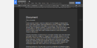 Docs document view