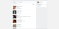 Friends page