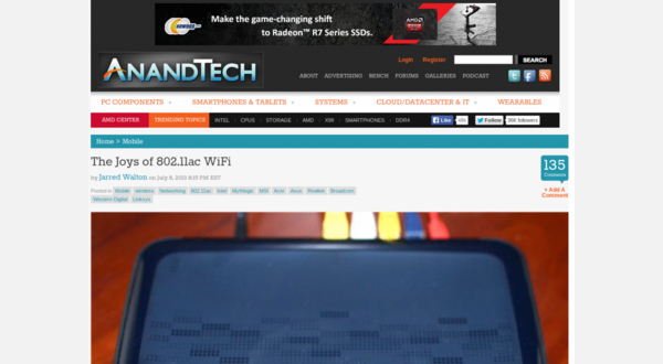 With the style applied