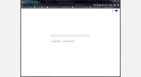 Google Web Search Homepage