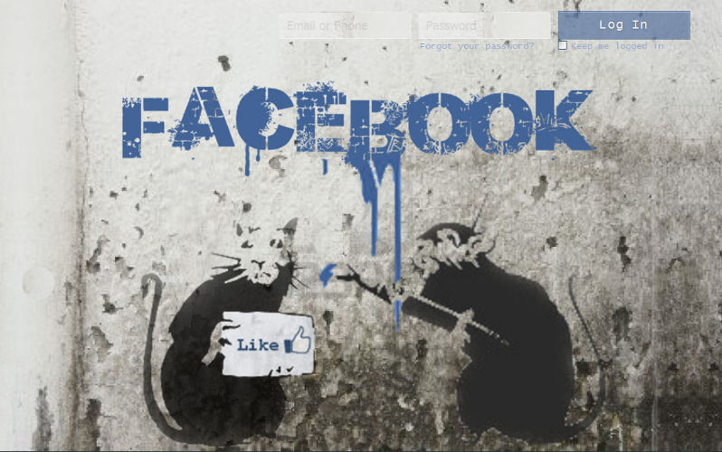 banksy facebook login freestyler ws. Black Bedroom Furniture Sets. Home Design Ideas