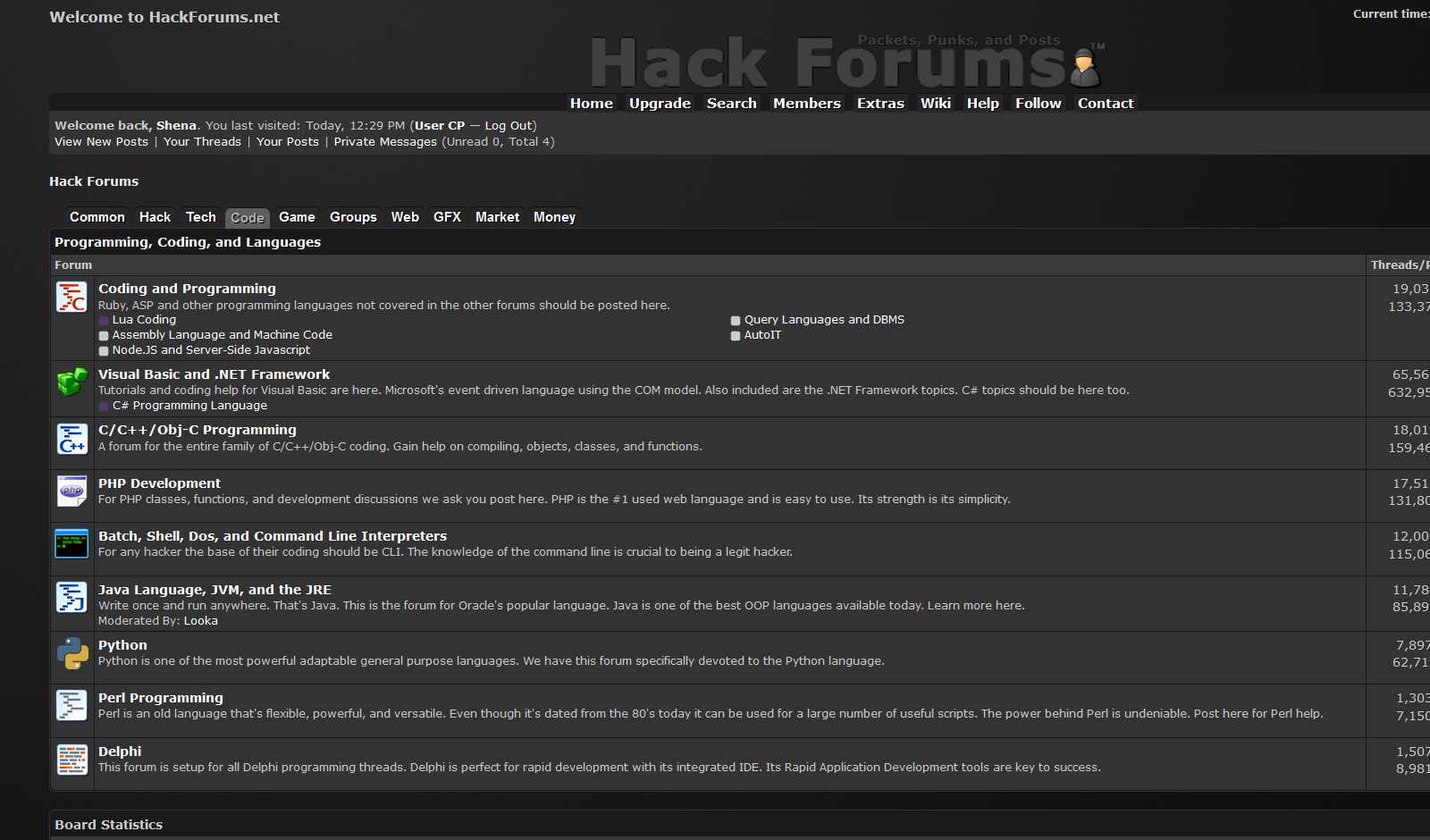 Hackforums dark theme - FreeStyler WS