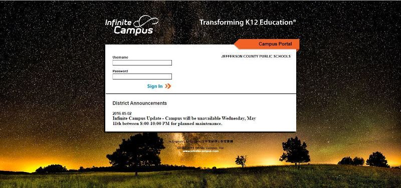 Parent Portal for JCPS - FreeStyler WS