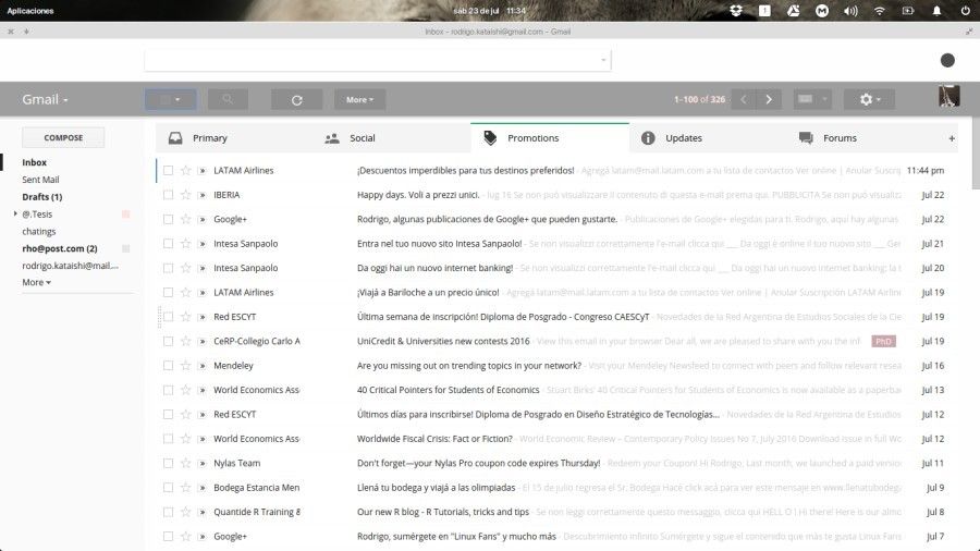 clean ui for gmail - graymod