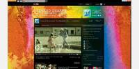 channel page - with background